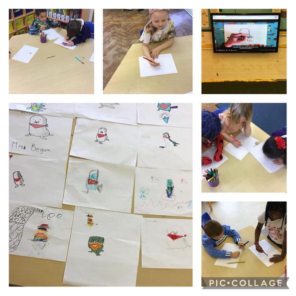 We had great fun doing 'Draw with Rob!'