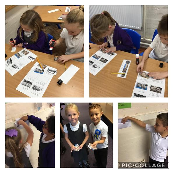 We completed a scavenger hunt during our lesson. We learnt about life in Victorian times!