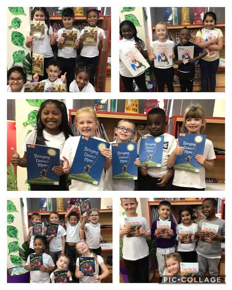 We love reading! These are the books we have been reading in guided reading this week.