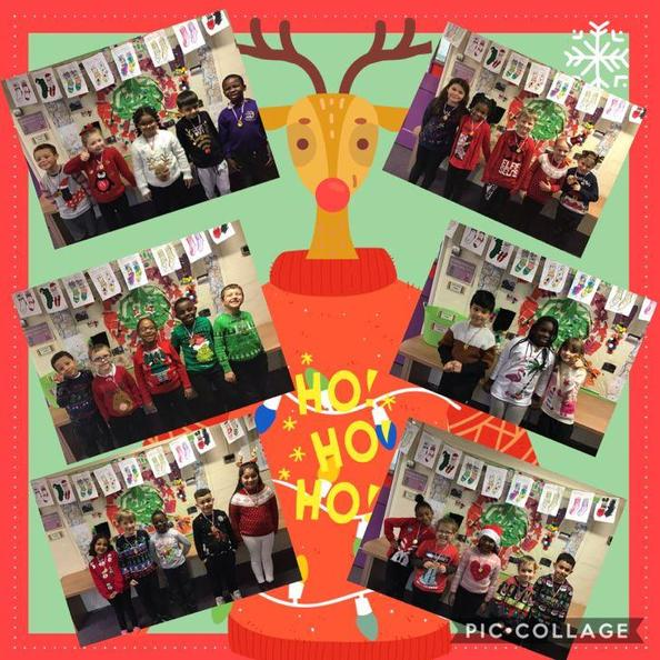 Feeling festive in Year 2! Do you like our Christmas jumpers?