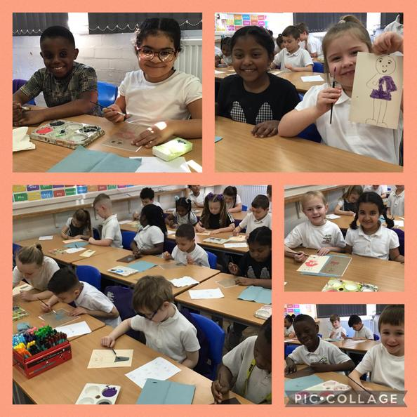 We have enjoyed painting our portraits for our school's Commonwealth Games art project!