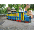 The train in one of our playgrounds.