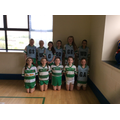 Cabragh netball team -runners up