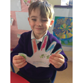 Mason and his lenten promise to share with his mum