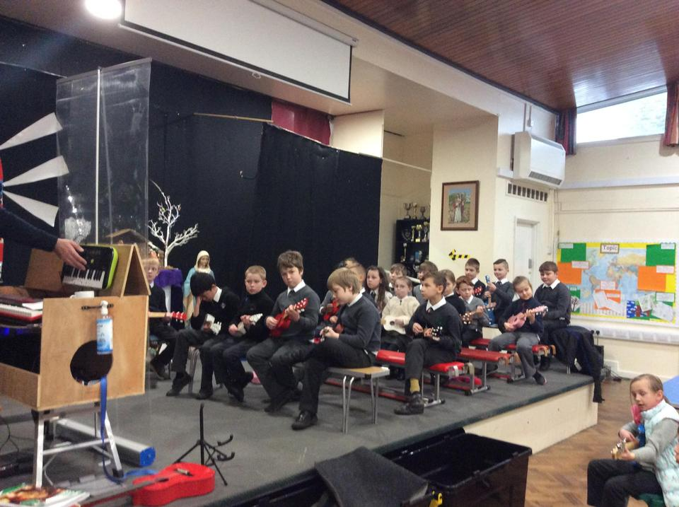 Christmas Concert Practice