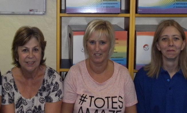 Cleaning Staff  Mrs Canning, Mrs Tonna, Mrs Desmond