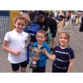 Infant Sports won by Blue House, St. Winefride