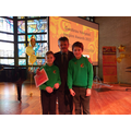 Mr Catris with Sam and Jack.