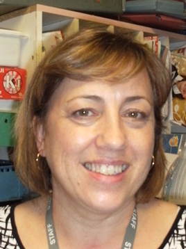 Mrs Davies School admin clerk