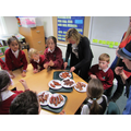 Sausage tasting - supplied by Shepleys butchers