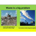 Incinerators= electricity landfill=pollution