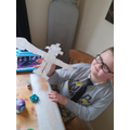 What a great Iron Man Alfie has made