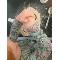 Daisy has been busy baking