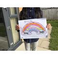 A lovely rainbow by Aishah