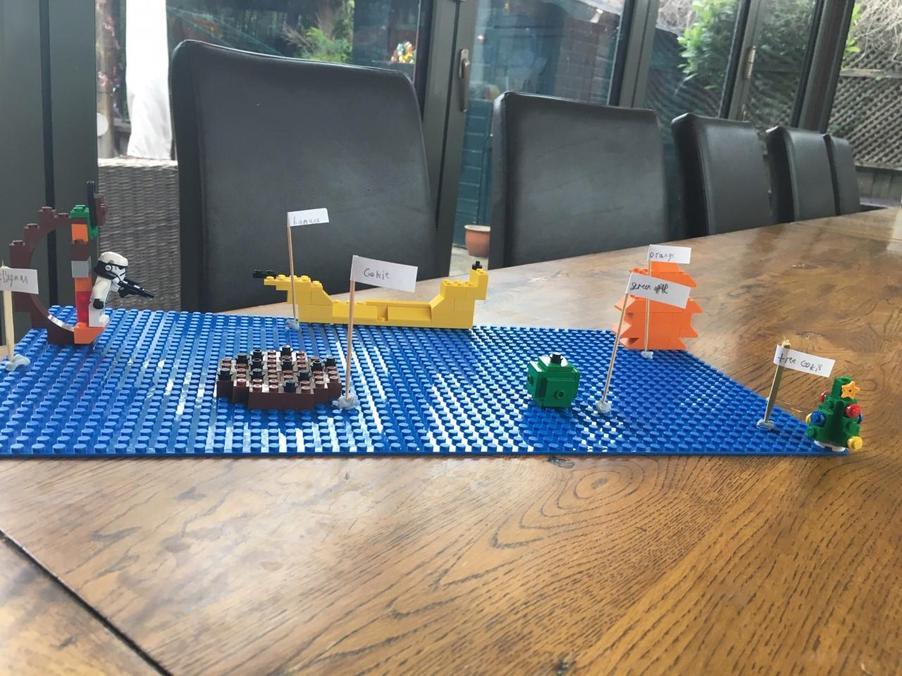 Lego food!