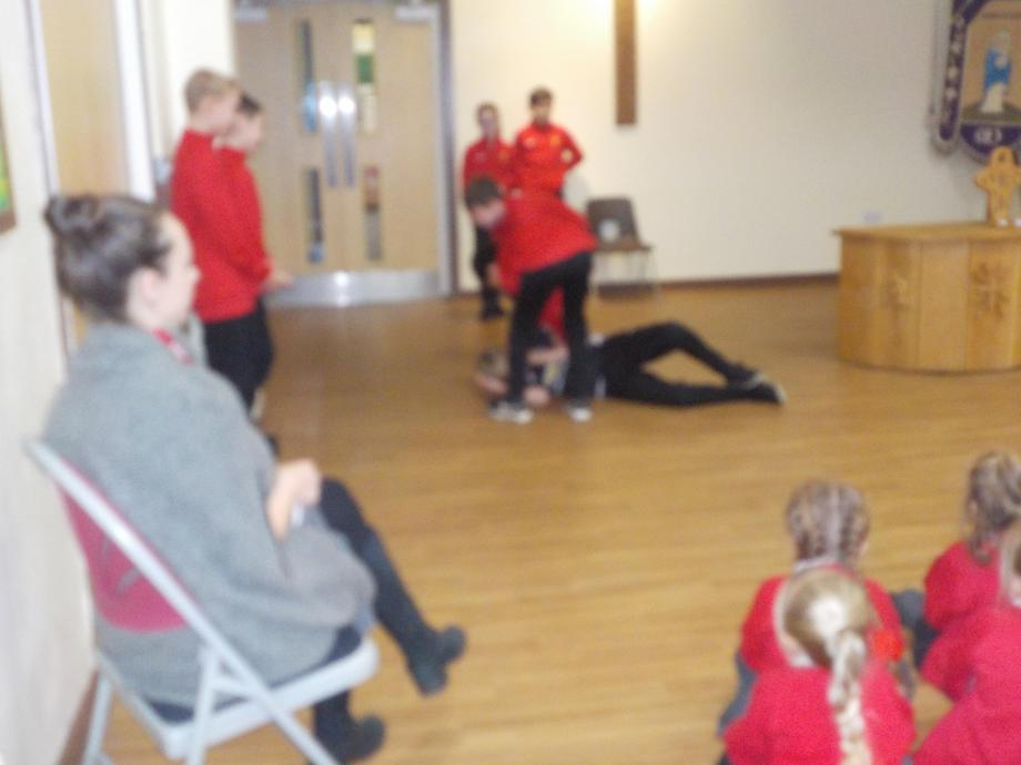 The Modern Day Good Samaritan by Year 6