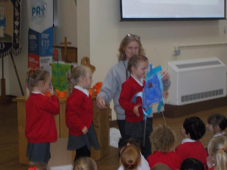 The Rainbow Fish by Reception