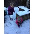 Building snow castles