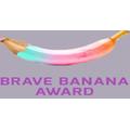 Brave Banana Award Stickers