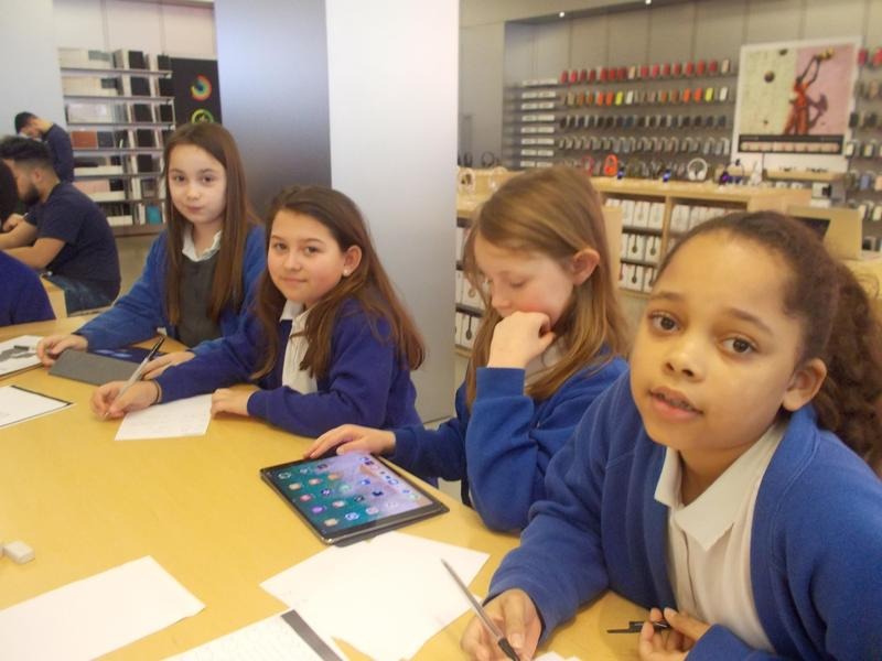 We recorded ourselves reading the poems,