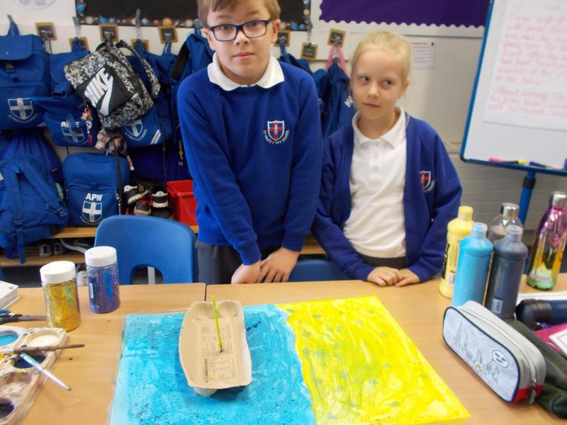 Our own creative responses to Godly Play