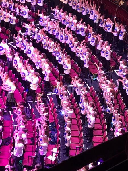 Choir at the Royal Albert Hall