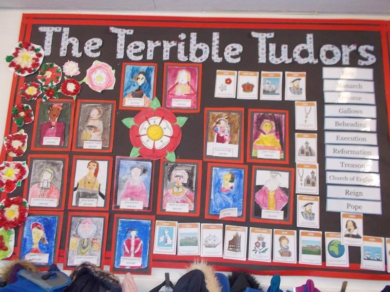 Year 4 Tudor Display