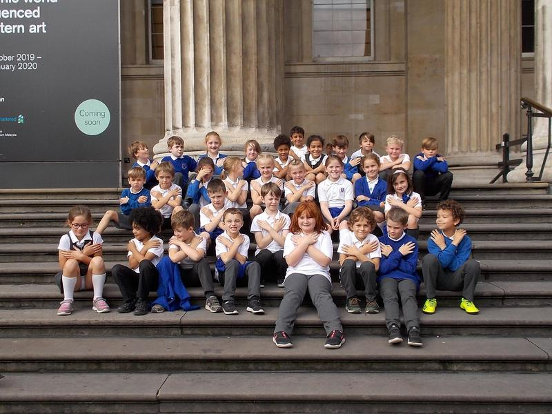 Year 4 at the British Museum