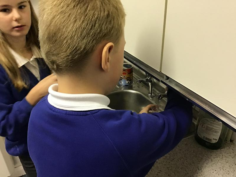 Tap water science experiment