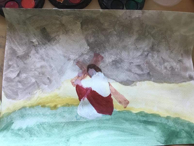 Creating Easter artwork