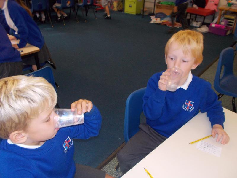 Water tasting in science