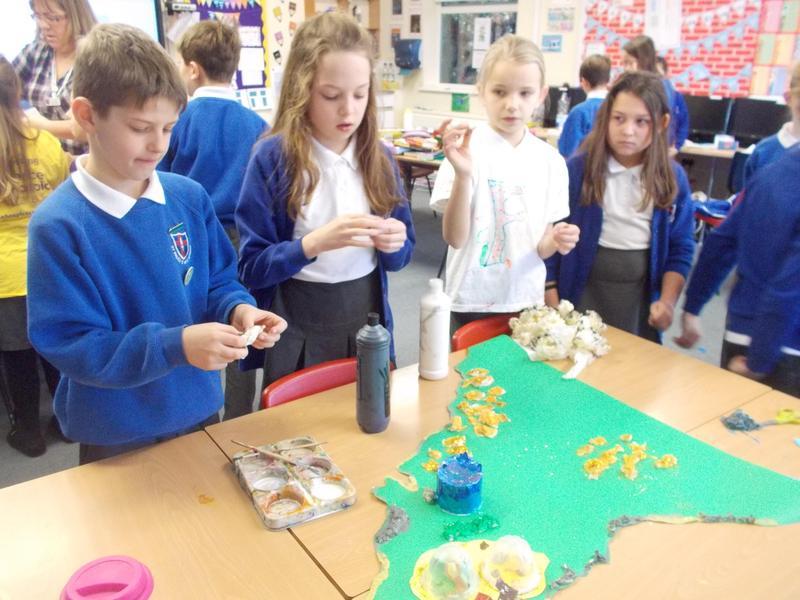 We created the setting of Kernowland.