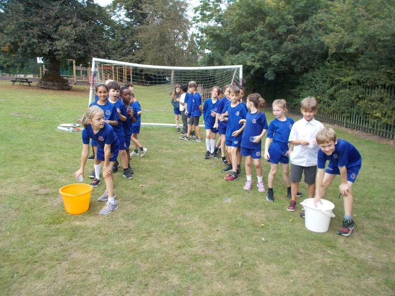 Water Team Games