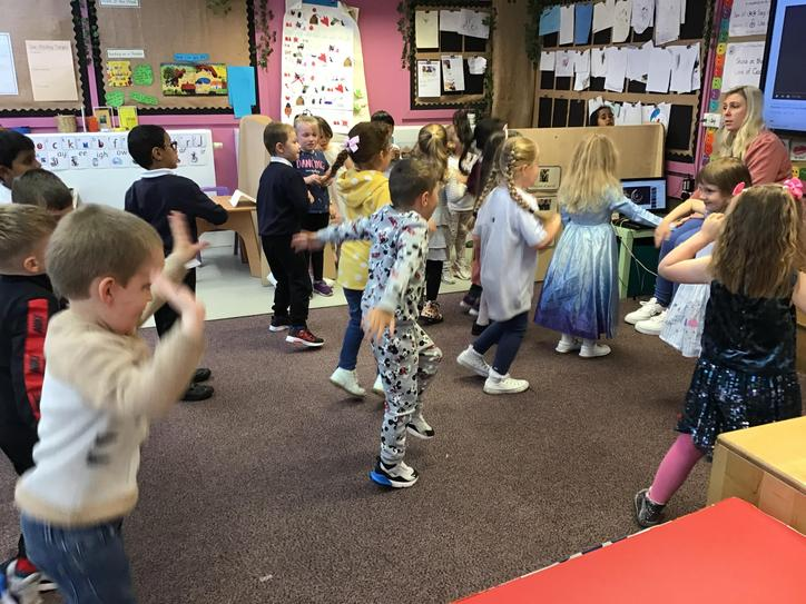 We listened to and danced to traditional music...