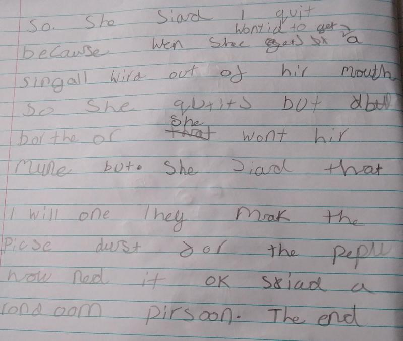 Isla's story continued