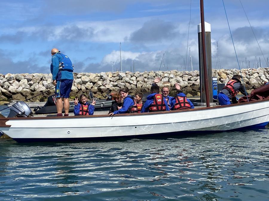 Keelboat Sailing