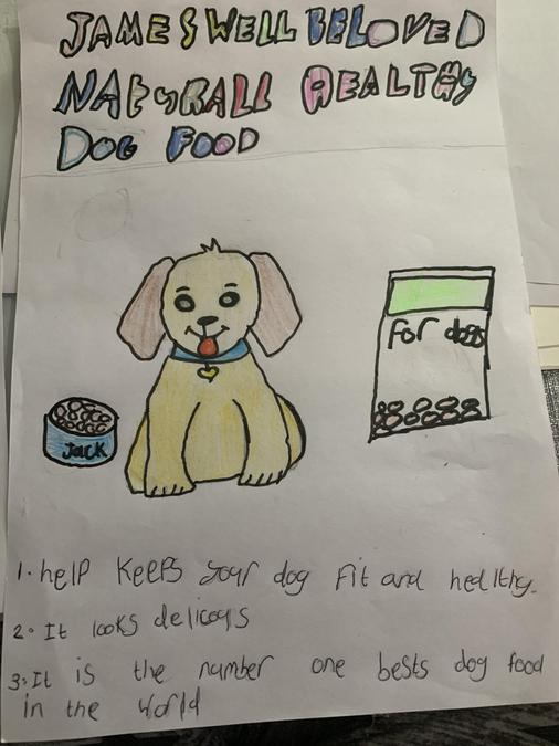 Raya has used persuasive writing features to create an advert