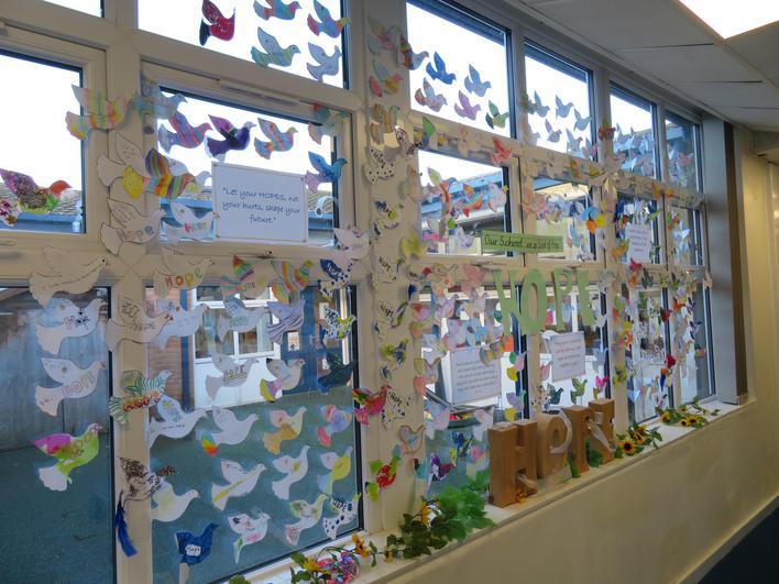 Beautiful whole school display