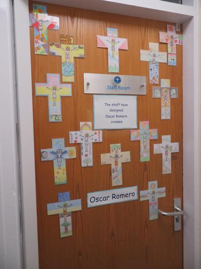 Our staffroom door
