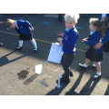 We made rockets with our gardeners