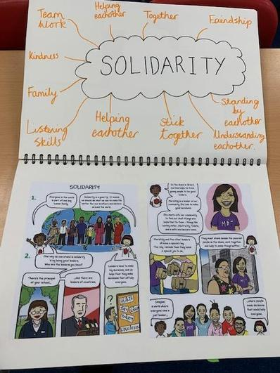 Solidarity with others