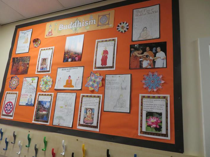 'World Faith Week' display