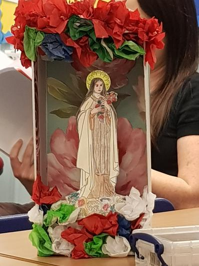 Saint Day Crafts in Year 4