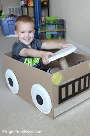 Safari Cardboard Box Jeep