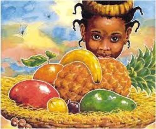 Handa and her basket of 7 fruits
