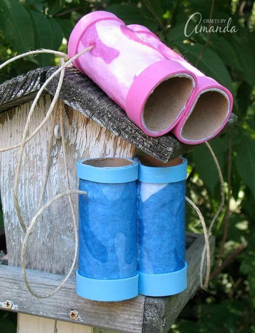 Toilet roll tube Binoculars