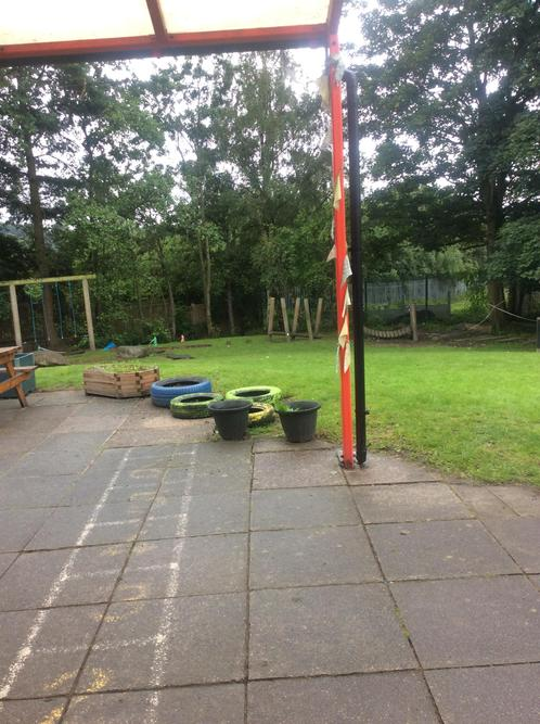This is where you can play outdoors! We have some lovely resources to play outdoors with!