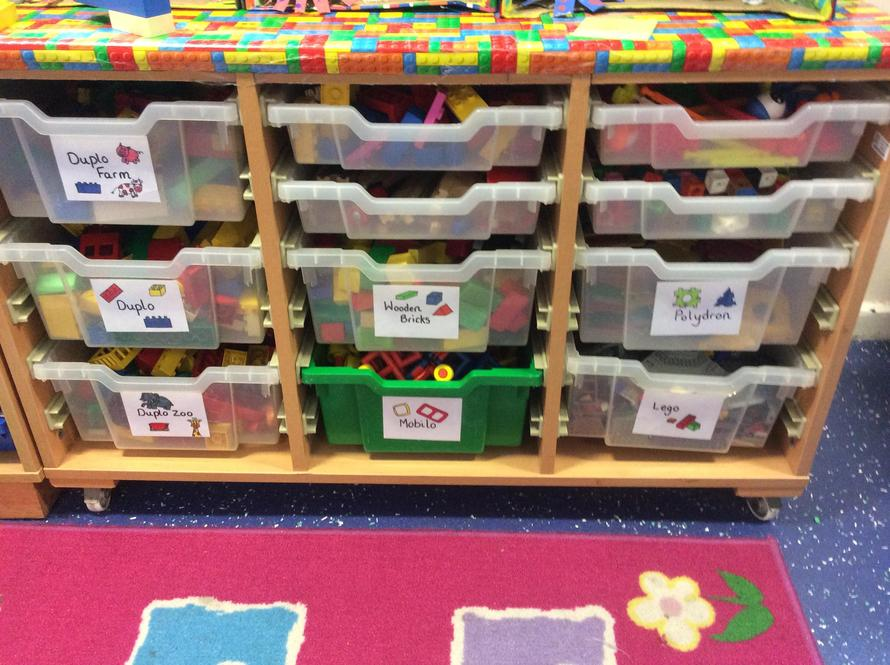 We have lots of construction for building models.