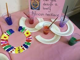 Handa's Paper Plate Necklace