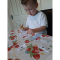 Making number cards